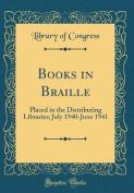 Books in Braille