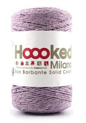 Hoooked Crafts Recycled Eco Barbante Solid Colour 200g Yarn - Orchid