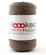 Hoooked Crafts Recycled Eco Barbante Solid Colour 200g Yarn - Taupe