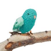 Hoooked Crafts Eco DIY Crochet Knit Box Gift Kit - Love Bird - Lagoon