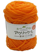 Akura / L Luxury homemade top dyed wool yarn Jointed COL 17 40 g 70 m