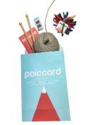 Knitting Knitting Starter Kit Big Wool Scarf Beige