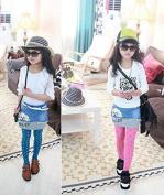 Xuxuou Fashionable Girls Pantyhose Breathable Slim Elastic Children Dot Coloured Velvet Tight Pants Leggings Trousers 1 pcs