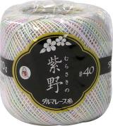 Lace yarn MURASAKINO scrubbing # 40/10 g
