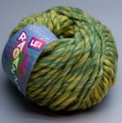 Lana Grossa Ragazza Lei 113 Olive gelbmeliert 50 g Wool