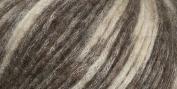 Lana Lpaco Finest Baby Alpaca/Merino Yarn Natural Brown Mottled