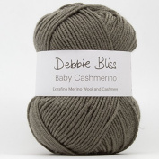 DEBBIE BLISS BABY CASHMERINO HAND KNITTING YARN - 50g Mouse