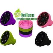 Eurostil silicone diffuser attachment for hair dryer hair dryer Softstyler