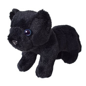 te-trend Stuffed Toy Panther Panther Baby Cuddly Toy 16cm Standing