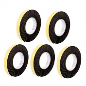 Unique Bargains 5 Pcs 20mmx4mm Single Sided Sponge Tape Adhesive Sticker Foam Glue Strip 3m