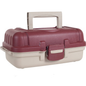 Heavy Duty Two Layer Tackle Box with Secure Latch by Gone Fishing