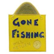 Gone Fishing Pin 2.5cm