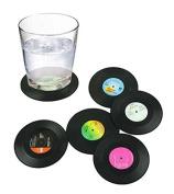 Vinyl Record Coaster
