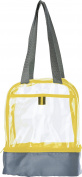 Transparent lunch bag - yellow
