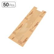 50Pcs Anti-oil Kraft Paper French Stick Baguette Bread Bag 3.9x 1.200cm x 31cm