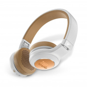 JBL Duet Bluetooth Wireless On-Ear Headphones - Silver