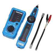 Vococal RJ11 RJ45 Telephone Wire Network Tracker Tracer Toner Ethernet LAN Cable Wire Tester Detector Line Finder