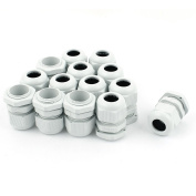 sourcingmap 14 Pcs PG13.5 Waterproof Cable Glands Connector for 6-11mm Dia Wire