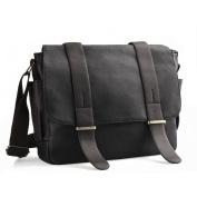 Messenger bag,LOSMILE 34cm PU Leather laptop bags. Shoulder Bag ipad Bag Satchel School Bag.