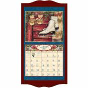 """Lang """"Vintage Red"""" Calendar Frame"""