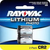 Rayovac CR2 battery- 3.0 Volt