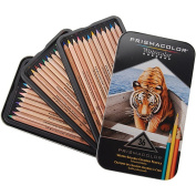 Professional Quality Watercolor Pencil, 36 Assorted Colors/Set