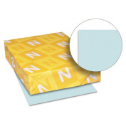 Neenah Paper Exact Index Card Stock, 50kg, 8 1/2 x 11, Blue, 250 Sheets