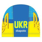 Diapolo Ukraine Lycra Cap Fabric Cap Swimming Cap Swimming Hat Cap