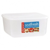 Stalwart K454 Seal Fresh Container Square Cake Storer, 24cm x 24cm x 11cm