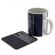 Tottenham Hotspur F.C. Mug & Coaster Set Official Merchandise