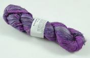 100g Recycled Sari Silk Ribbon Yarn, Jewellery Making Trim - Orchid Mix