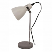 Living & Co Samantha Table Lamp Concrete White