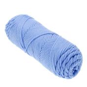 VANKER Crochet Hand Knitting Yarn Baby Yarn Wool Thick Yarn For Threads Scarf Shawl-Light Blue