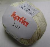 Katia Jet cotton/acrylic yarn, 50g - ecru