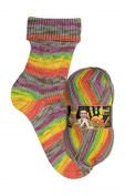 My socks Design Opal 4-Way 9373 Firebird