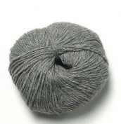 Inca Collection by PollyJane - 100% Pure Baby Alpaca DK Yarn - 50g. SFN41 Grey Mouse