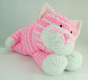 Knitting By Post Cuddles the Cat Soft Toy Knitting Pattern DK