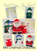Knitting By Post Mini Knitted Christmas Characters Toy Knitting Pattern DK