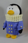 Knitting By Post Travelling Penguin Soft Toy Knitting Pattern DK