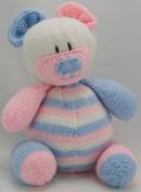 Knitting By Post Nursery Bear Door Stop Knitting Pattern DK