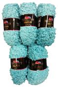 5 x 112 Loop Wool 100/12 Knit and Crochet 500 Gramme Loop Wool Super Bulky 6