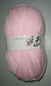 Baby Care Knitting Yarn Wool Baby Pink 100g by Woolcraft