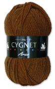 Cygnet C600/326 | Mustard 100% Acrylic Aran Yarn/Knitting Wool | 100g