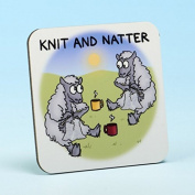 Vanessa Bee Knit & Natter Knitters Coaster