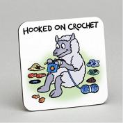 Vanessa Bee Hooked on Crochet Coaster