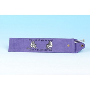 Vanessa Bee To Knit or Not to Knit. Knitting Needle Holder Lilac