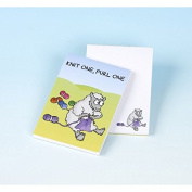Vanessa Bee Knit One Purl One Knitters Note Pad