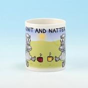 Vanessa Bee Knit & Natter Knitters Mug