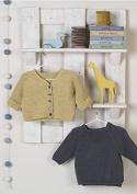 Erika Knight Gossypium Cotton Knitting Pattern Jammy & Dodger DK