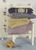 Erika Knight Gossypium Cotton Knitting Pattern Rhubarb & Waffle DK